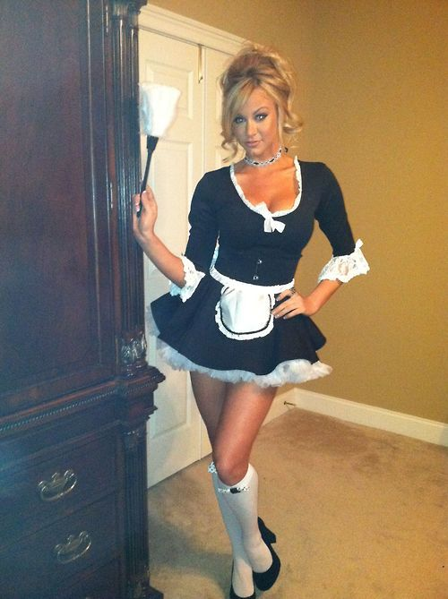 sexy Milf costume in french maid