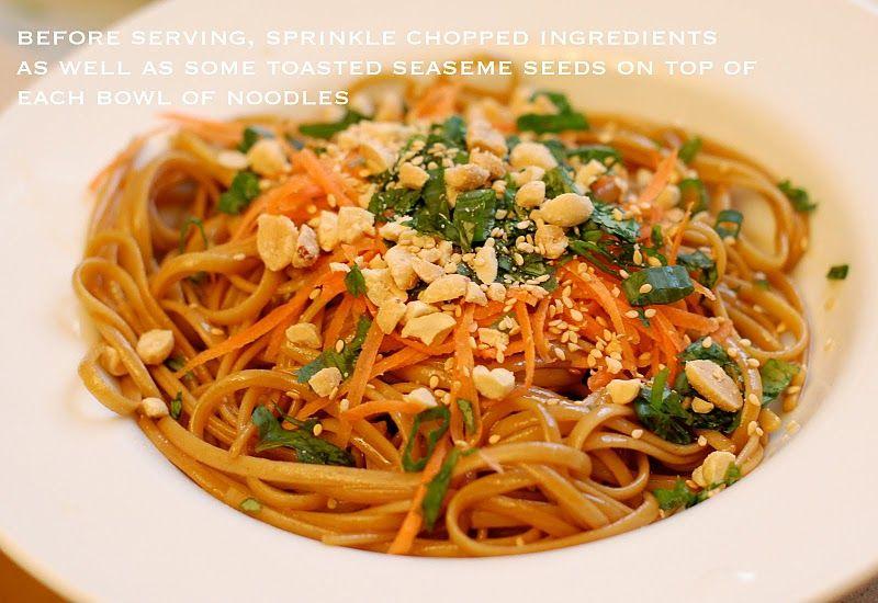 Spicy Thia noodles