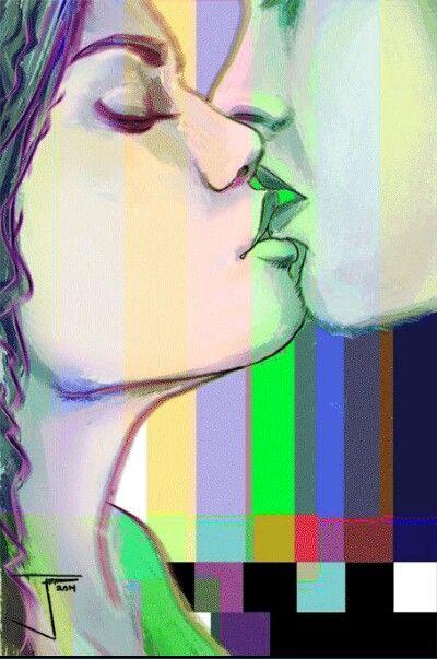 #Juntos  #amor  #besos  #Caricia