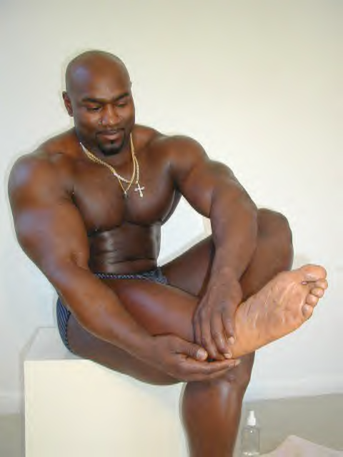 Black gay feet