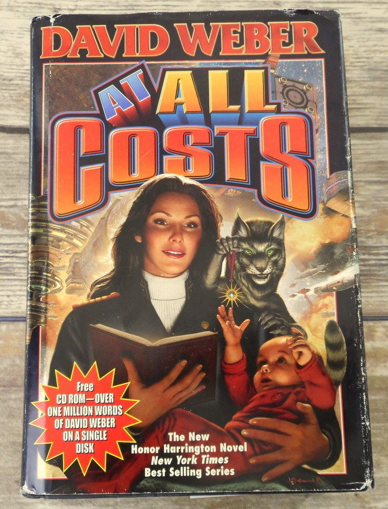 David Weber At All Costs Hardcover Hardcover Book Space Combat Honor Harrington