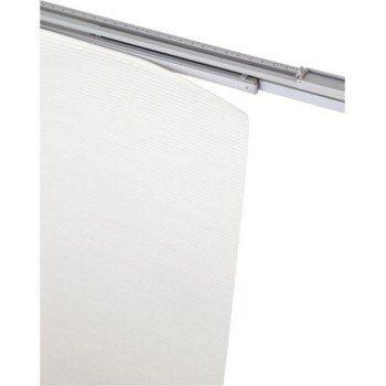 Rail Extensible Pour Panneau Japonais Aluminium Blanc L