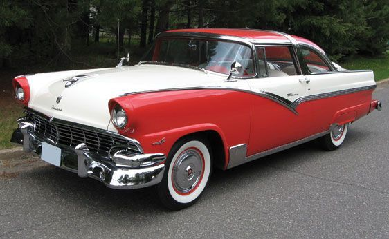 1000  images about 1956 Ford Crown Victoria on Pinterest