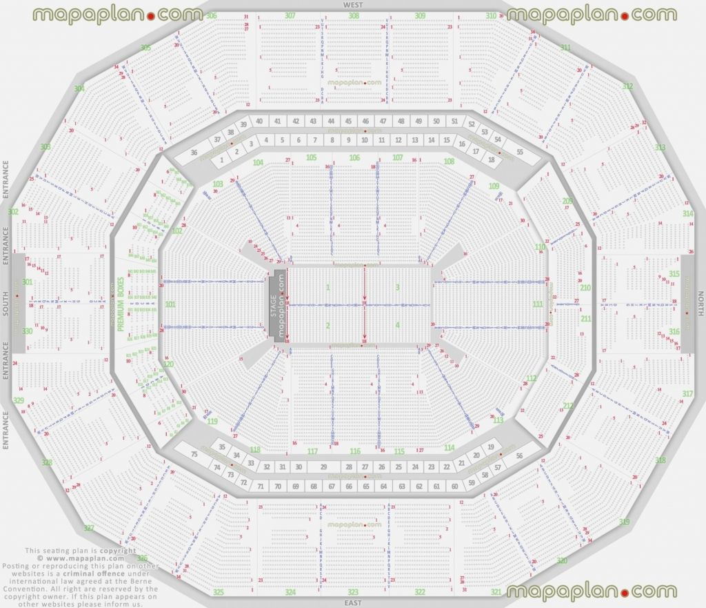 Red Rocks Seating Chart With Seat Numbers