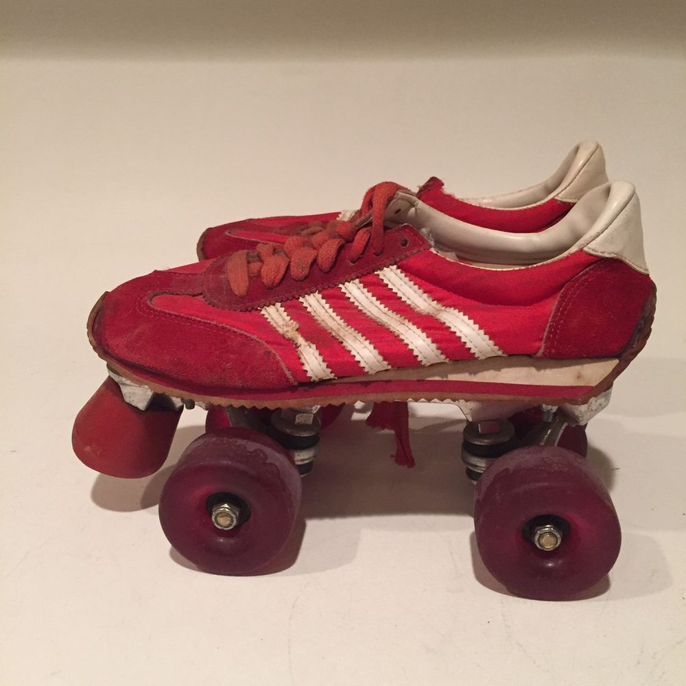 Roller tennis shoes - Vintage Red Roll Rider Rare Sneaker Tennis Shoe Roller Skates Men S Size 7 Ebay
