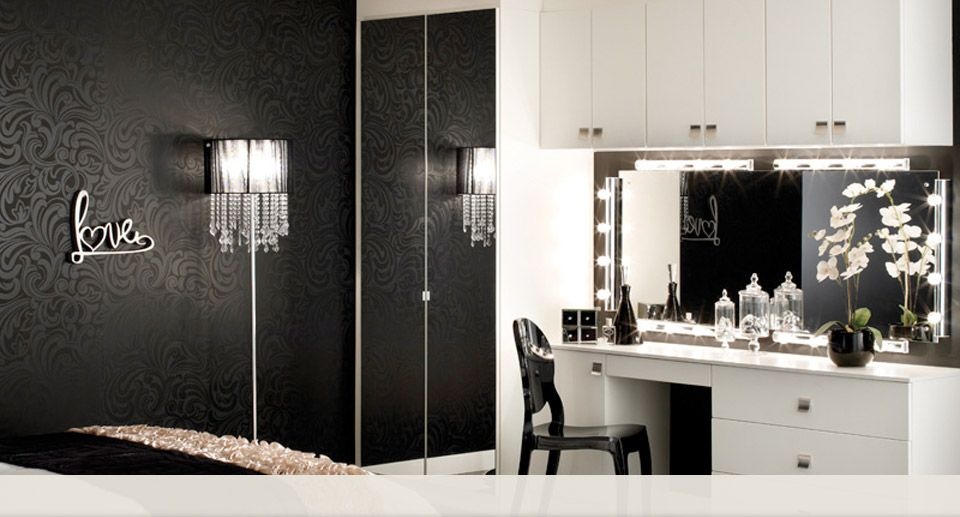 where can i find this dressing table and mirror I love it , are - Cheap Black Furniture