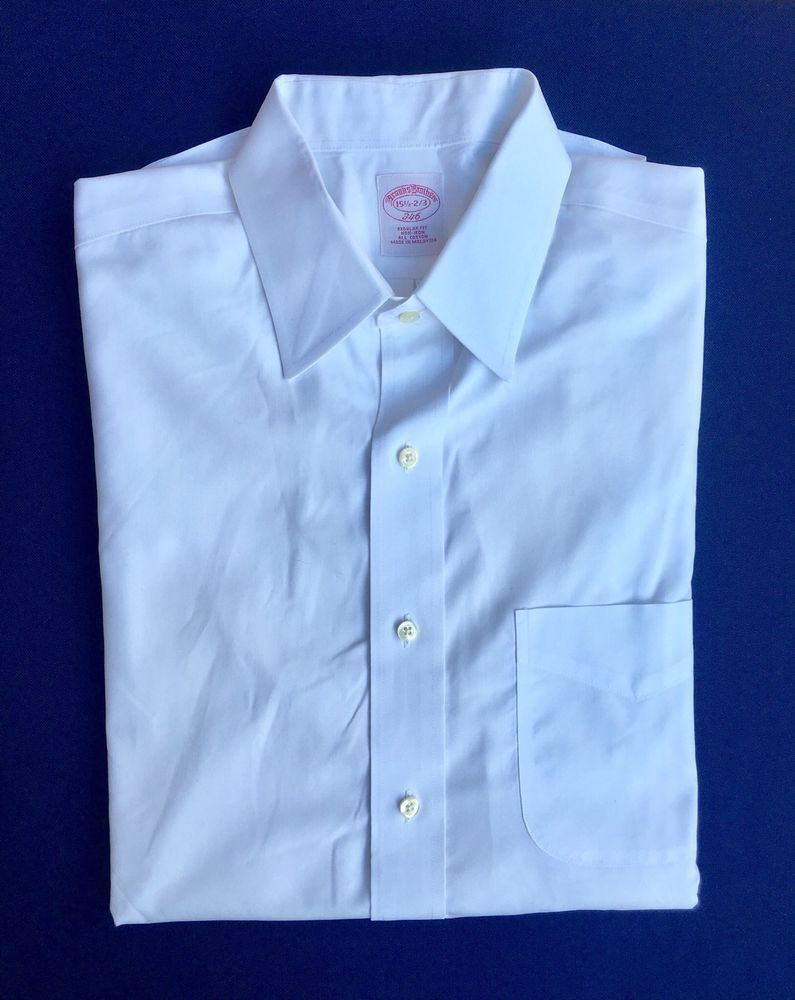 c8e298254 Brooks Brothers Regular Fit Non Iron Dress Shirt – EDGE Engineering ...