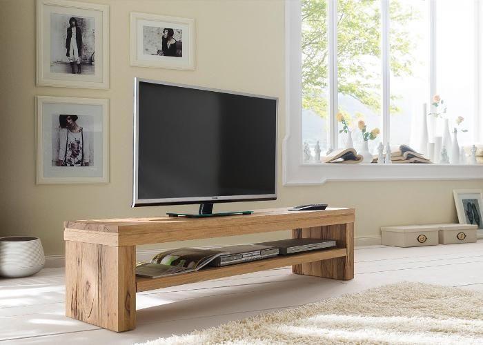 tv lowboard gina modernes wohnen mal ganz nat rlich voll im trend mit voll massiven m beln. Black Bedroom Furniture Sets. Home Design Ideas