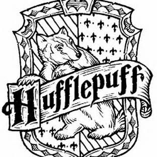 Harry Potter Hufflepuff Coloring Pages