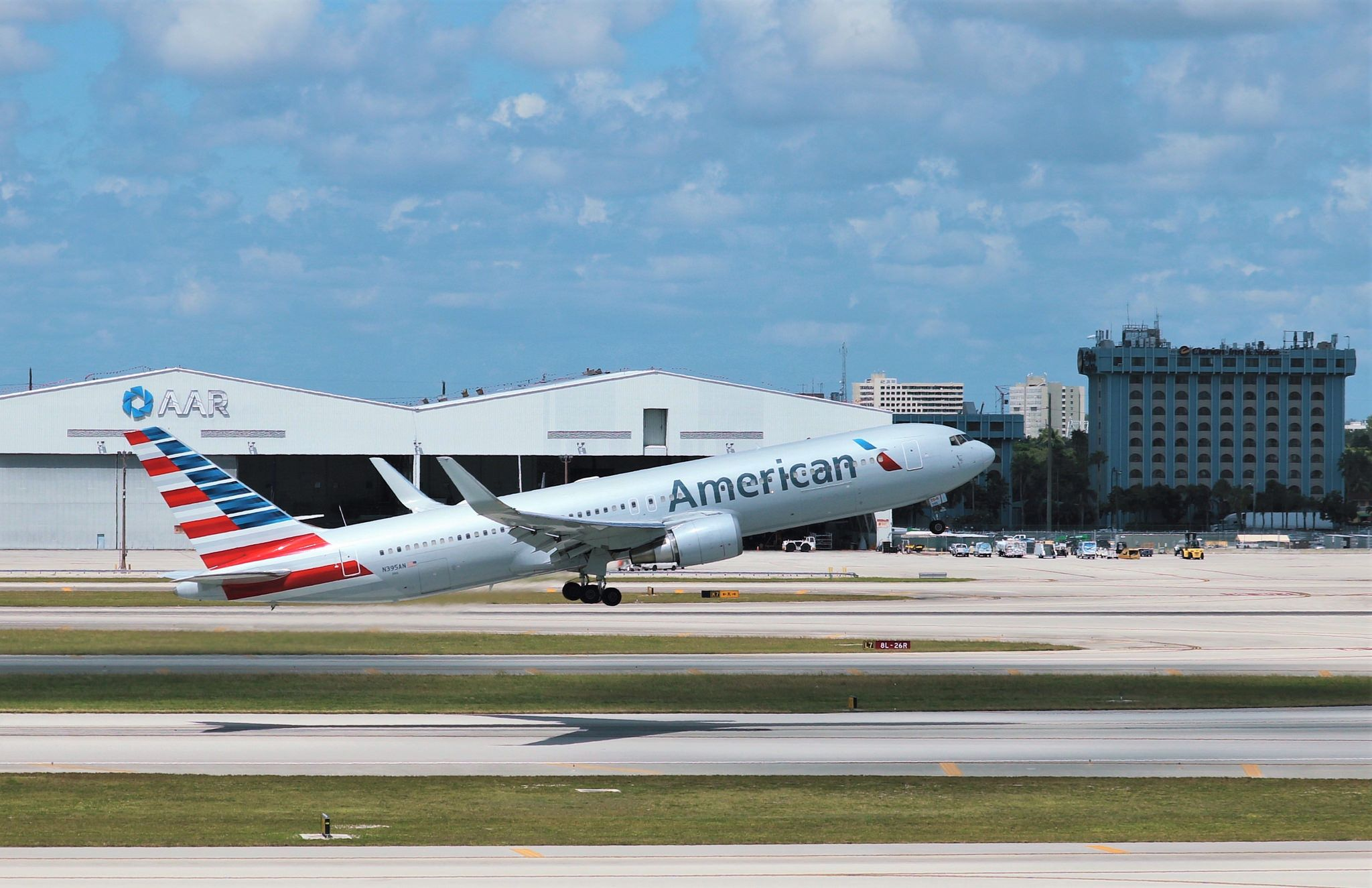 American Airlines 767  American Vacation planner Vacation