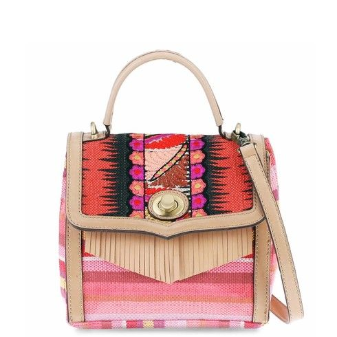 Leontine Hagoort - Chanine (coral) - Boxy Handbag
