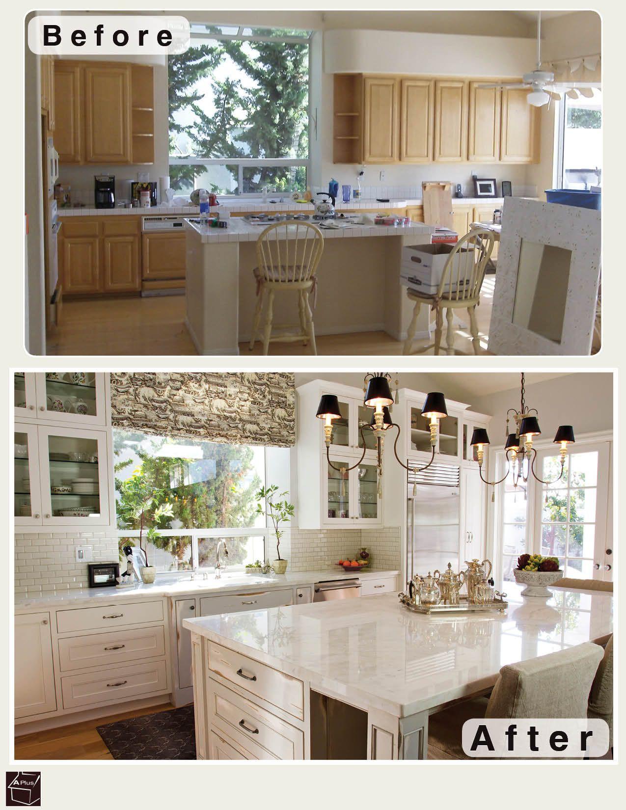 beautiful kitchen remodel image k che kitchen pinterest beautiful k che vorher. Black Bedroom Furniture Sets. Home Design Ideas