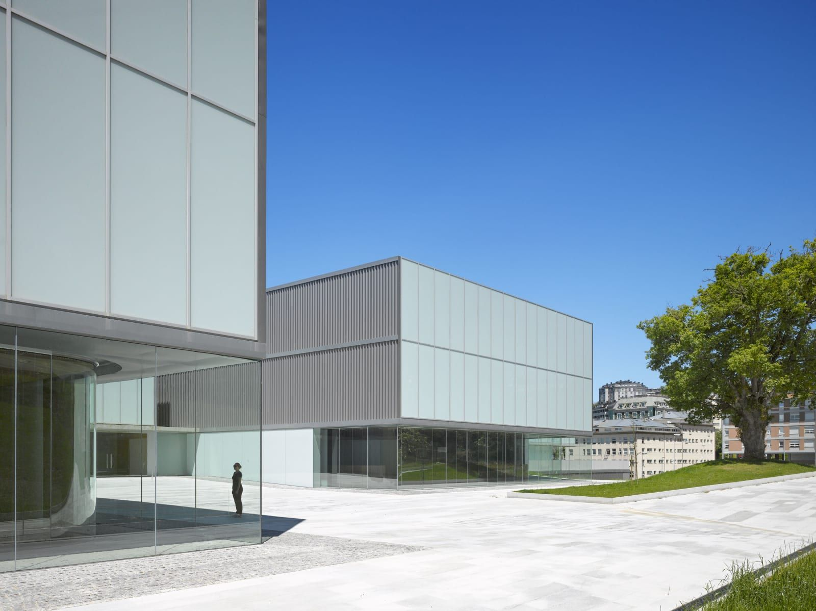 Paredes Pedrosa Arquitectos Roland Halbe Lugo Auditorium Architecture Magazines Architecture Auditorium