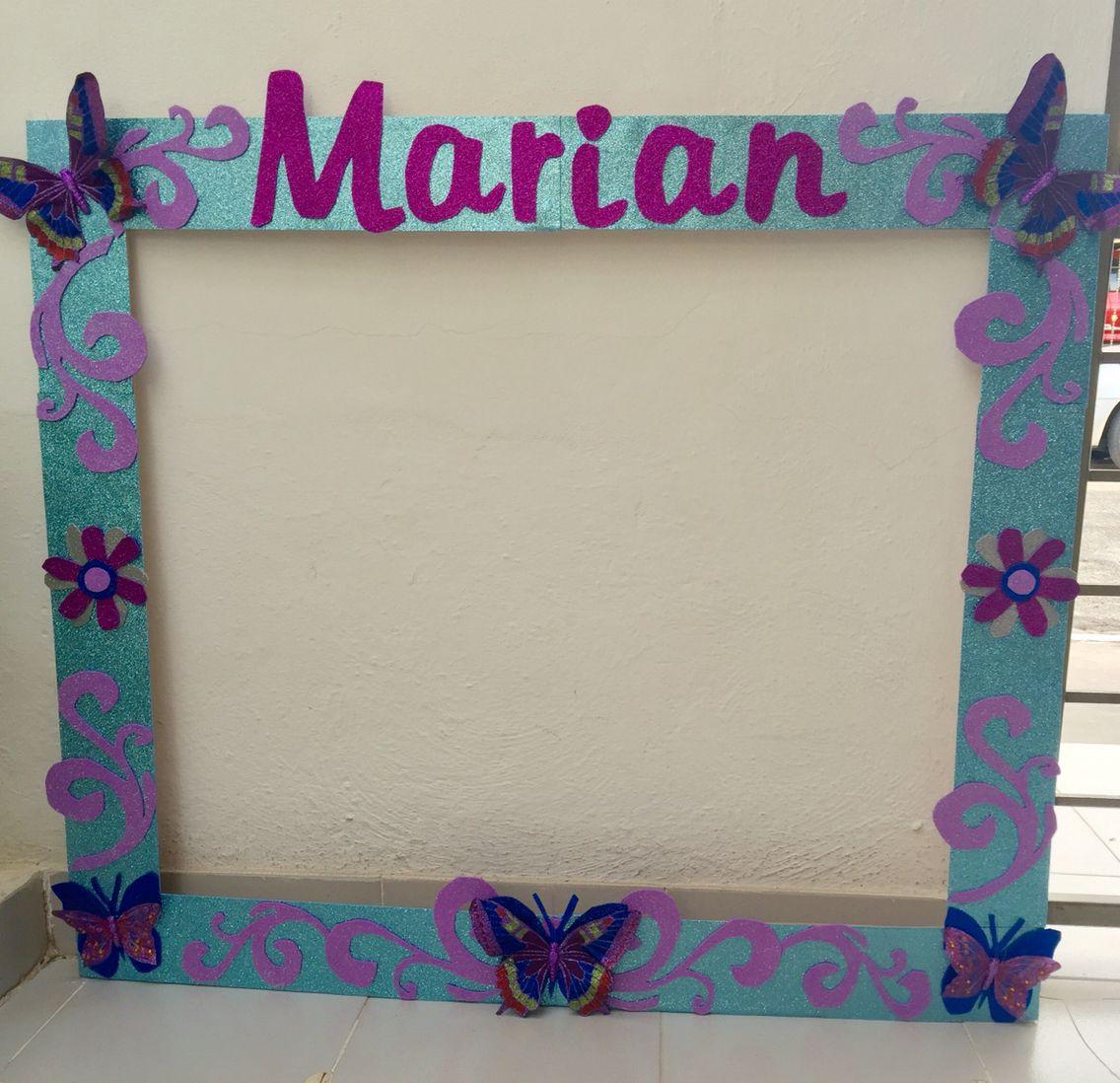 Marco para fotos Mariposas | marco gigantes | Pinterest | Fotos ...