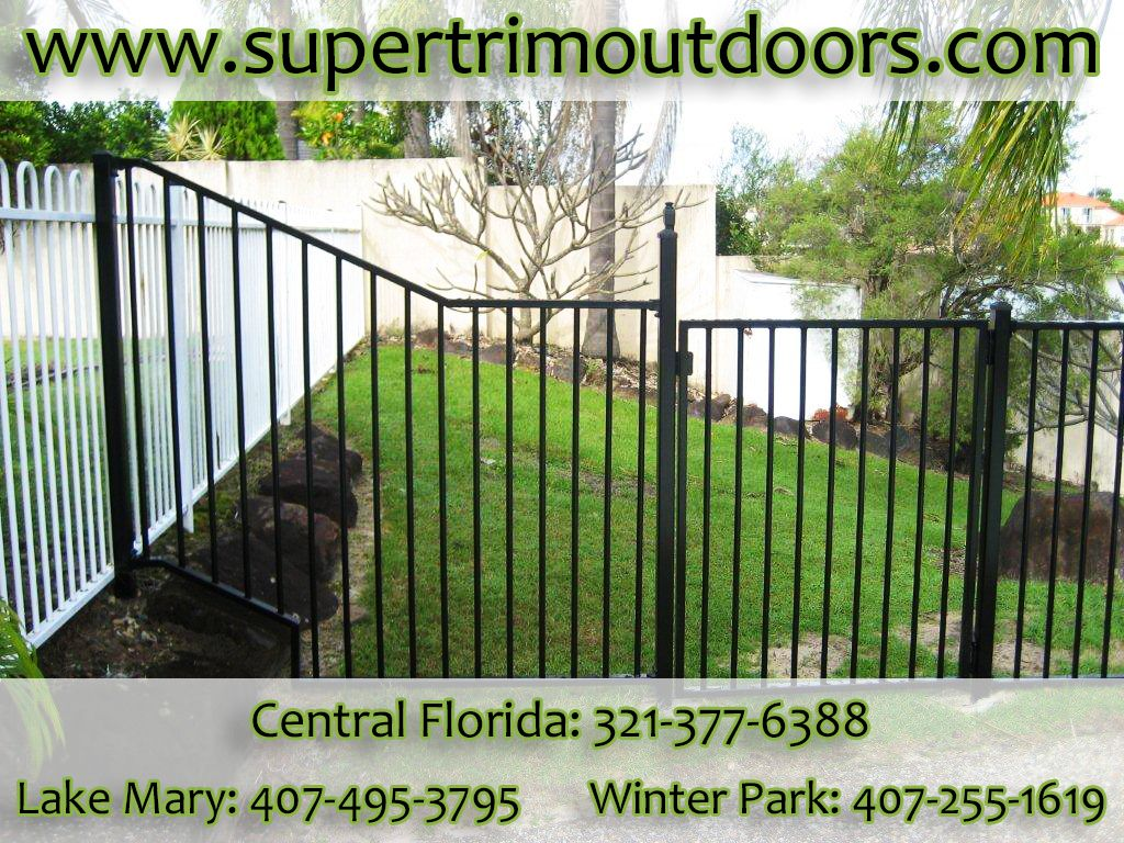 Let Super Trim Outdoors install a new fence to upgrade your home and yard.  www.supertrimoutdoors.com | (321) 377-6388 | twitter.com/SprTrimOutdoors | supertrimoutdoors.tumblr.com | plus.google.com/+SupertrimoutdoorsCFL