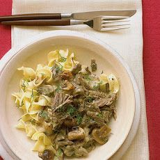 Classic Beef Stroganoff - For a Low-Carb side paring, try serving it over roasted carrots or asparagus.