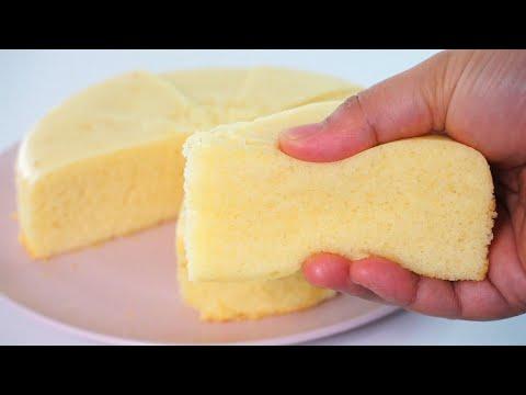 Steamed Condensed Milk Cake Soft And Fluffy No Mixer No Oven Youtube In 2020 Condensed Milk Cake Steam Cake Recipe Milk Cake