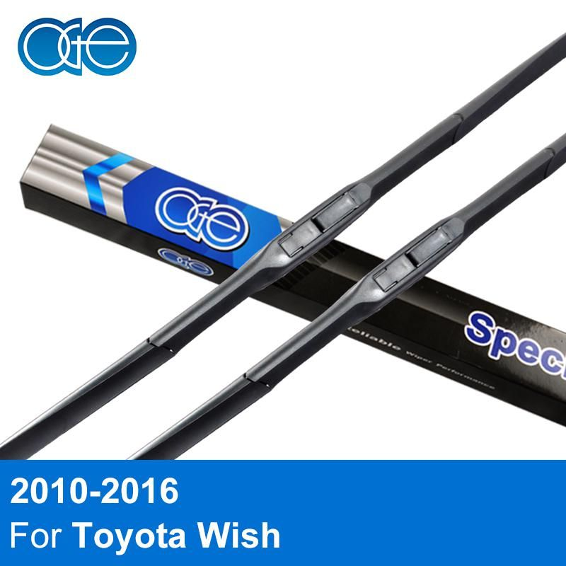 Oge Front And Rear Wiper Blade For Toyota Wish 2010 2011 2012 2013