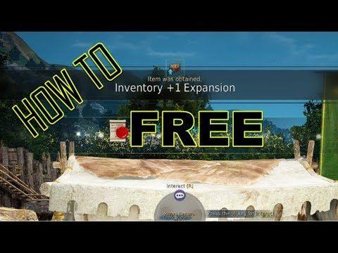 Bdo Inventory Slots