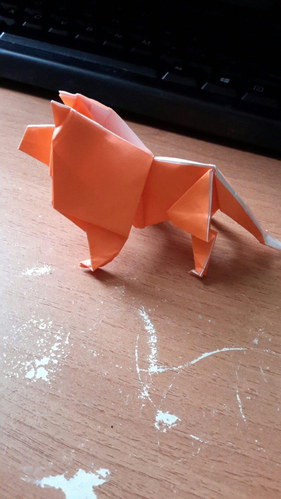 Lion Robert J Lang Kitten Heels Origami Design