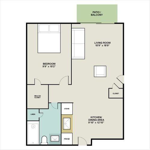 600 square foot floor plans south coast landings for 600 sq ft apartment floor plan