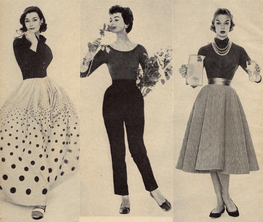 1950's Fashion. <3