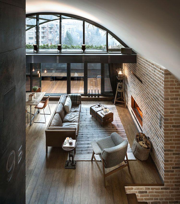 Extrêmement Emejing Decoration De Loft Pictures - Transformatorio.us  WX25