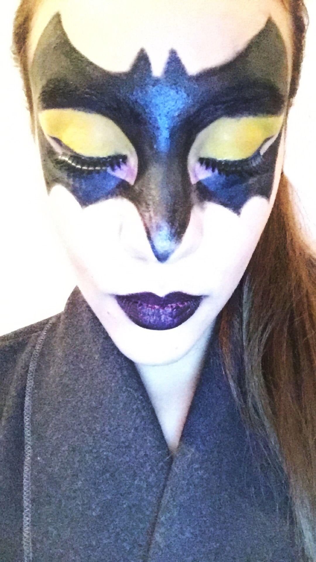 Batwoman Makeup Hairsjdi