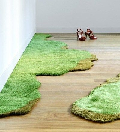 Moss By Az Rugs On Carpet