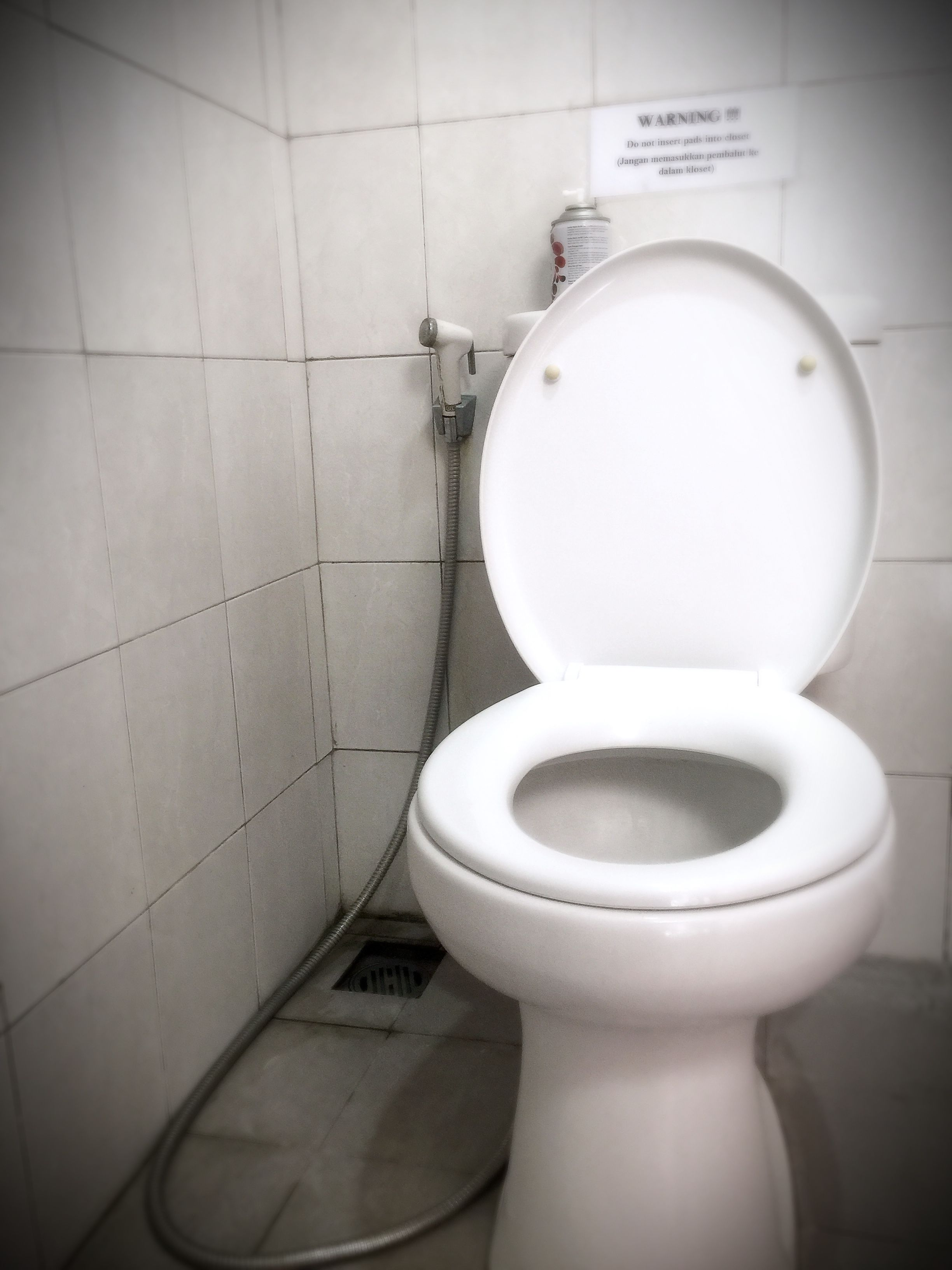 Today S Top Discussion Why Do Toilets In Indonesia Have Hoses Beside Them Let S Just Say To Always Male Sure You Shake Hands And Eat Your Food With Your Right