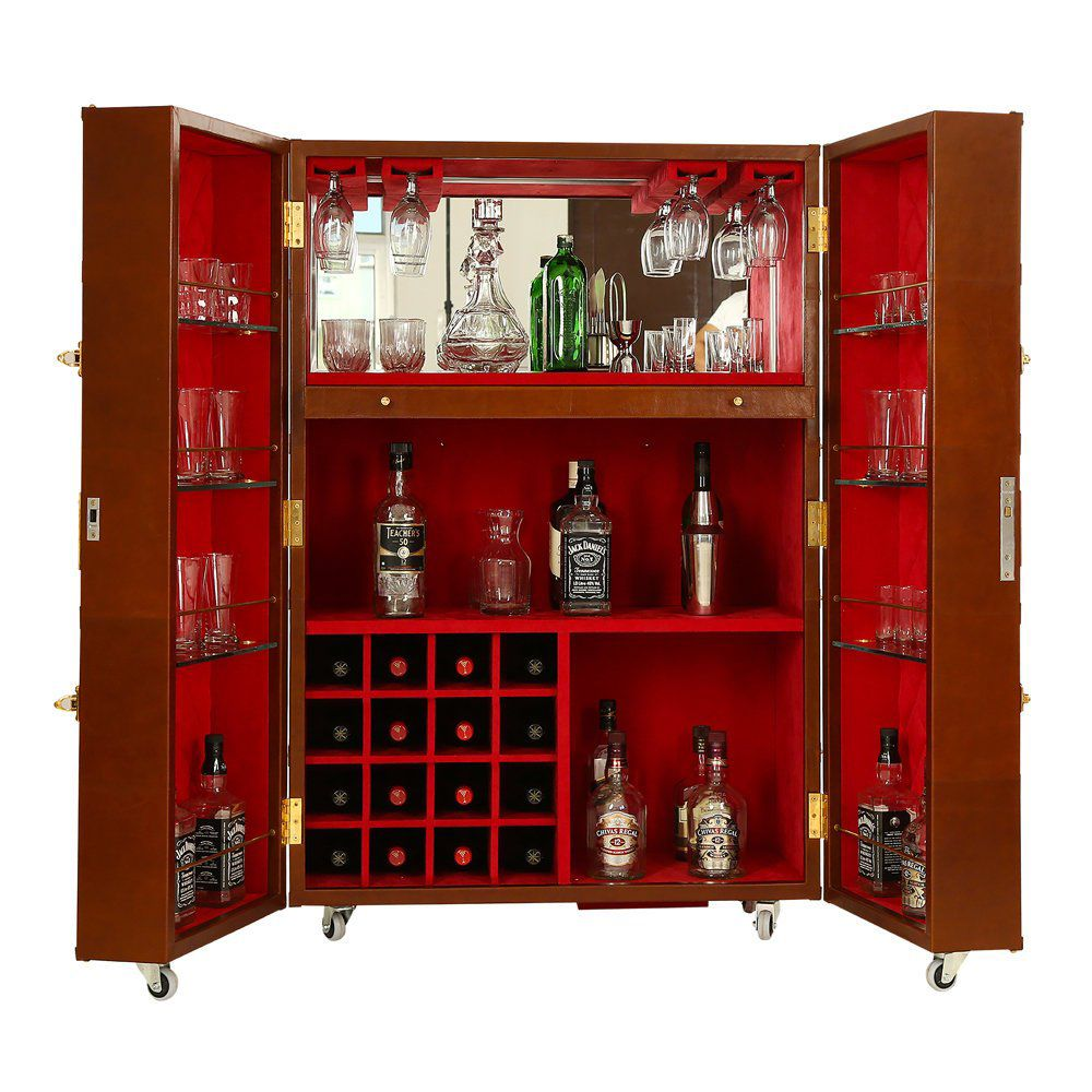 Home Bar Furniture Leather Bar Cabinet Liquor Cabinet Wine Etsy In 2020 Home Bar Furniture Bar Furniture For Sale Bar Furniture