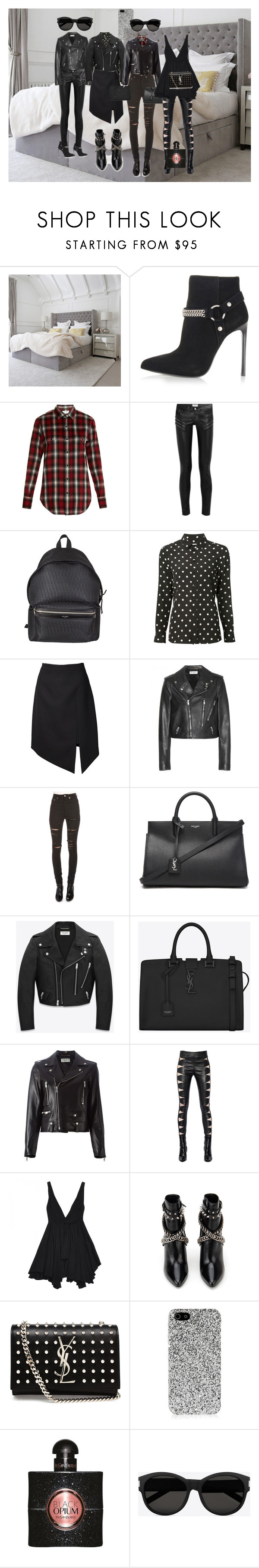 """YVES SAINT LAURENT"" by msdejazzy ❤ liked on Polyvore featuring Yves Saint Laurent"