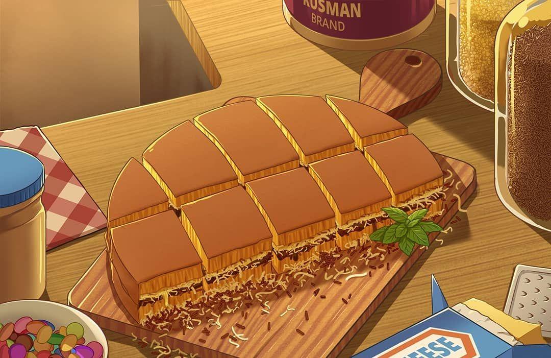 Pin Di Animasi Makanan
