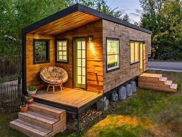 20 Surprisingly Beautiful Tiny Homes Around The World Tiny House On Wheels Tiny House Movement Tiny House Design