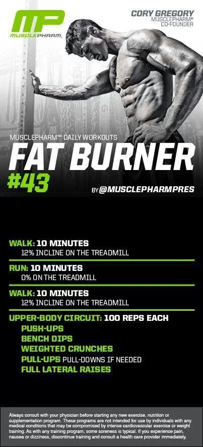 MusclePharm Fat Burner #43