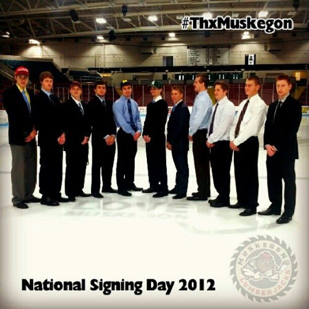 Eleven members of the Jacks signed their National Letters of - letters of intent