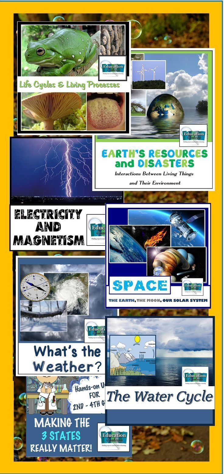 Elementary science bundle water life cycles weather matter filled with foldables interactive notesvenn diagrams study cards student led labs experiments teacher modeled experimentstake home pooptronica Gallery