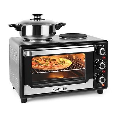 Mini Electric Oven Hob Cooker Combo Hot Plate 1500w Rv Travel Portable Cooki View More On The Link Http Www