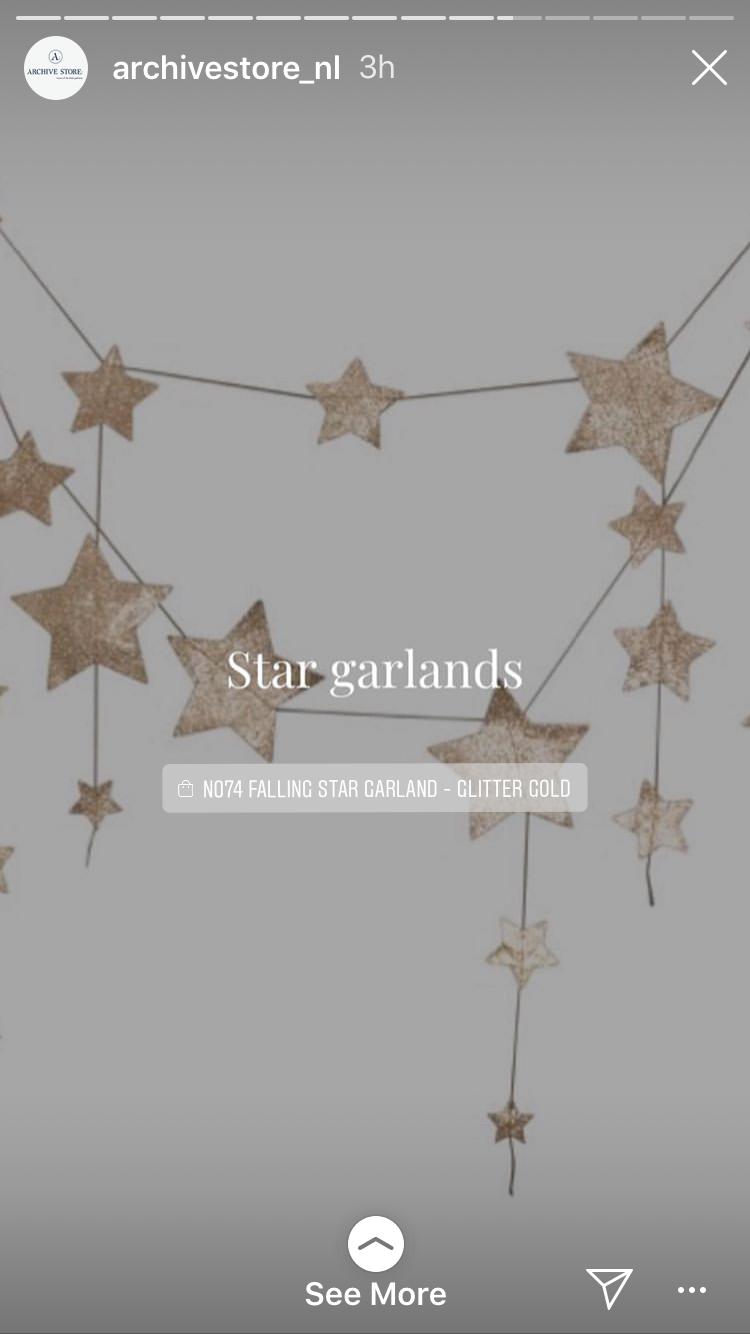 Pin By Alison Lauren On Baby Kamer Star Garland Garland Falling Stars