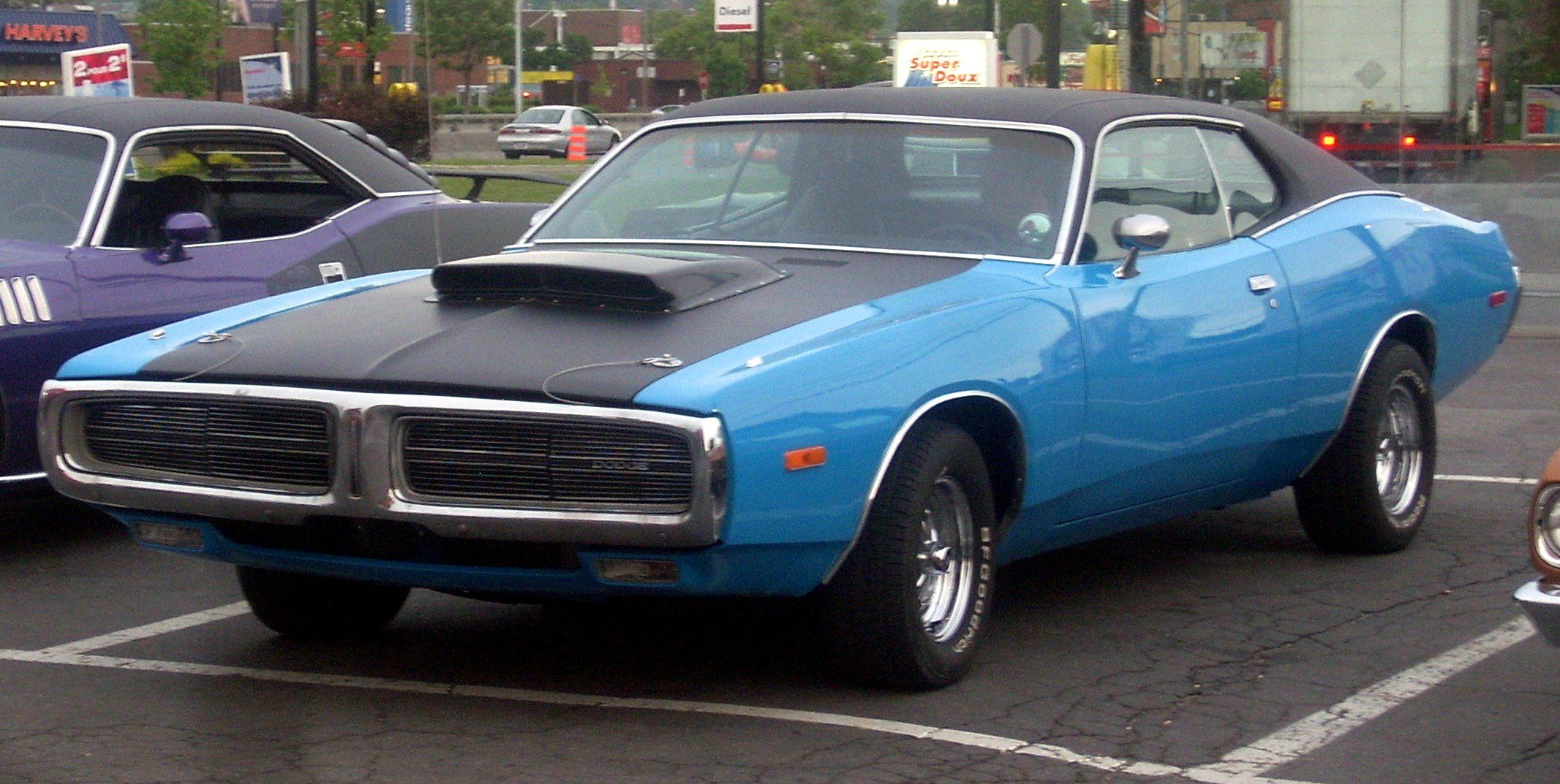 Vanguard Motor Sales JUST IN... 1969 Dodge Charger R/T Rotisserie ...