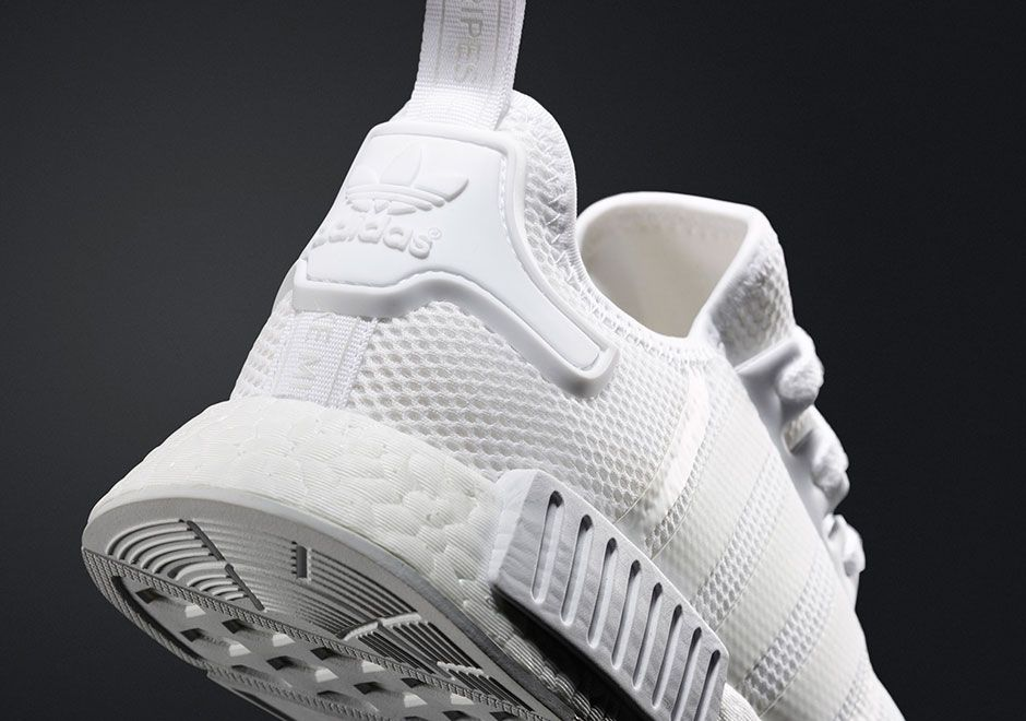 adidas To Release Triple White NMD This Saturday