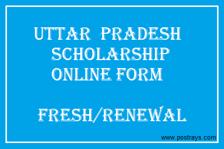 Up Scholarship Online Form  Students Scholarships