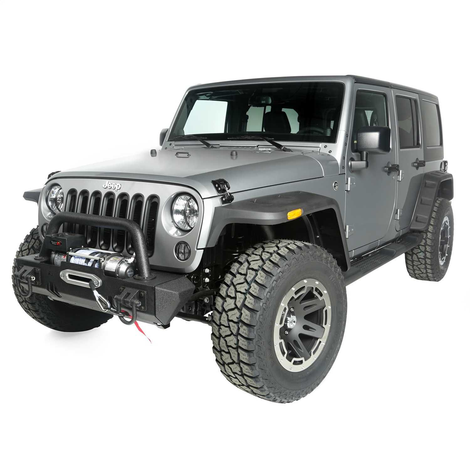 Rocky Package Jeep Accessories Kit Incl Hurricane Flat Fender