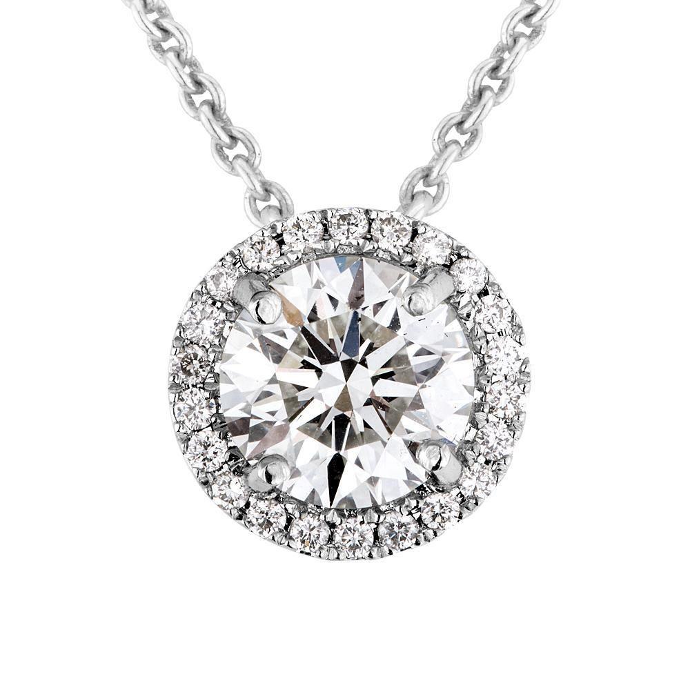 Diamond halo pendant hearts on fire pinterest diamond diamond halo pendant aloadofball Choice Image