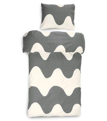 Lokki-pussilakanasetti, nutria-valkoinen 49,90€