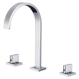 Merveilleux Moorefield Tanet Chrome 2 Handle Widespread Bathroom Faucet Eb4342