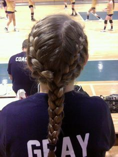 Curly Hairstyles For Volleyball Google Search Sports Hairstyles Volleyball Hairstyles Sporty Hairstyles
