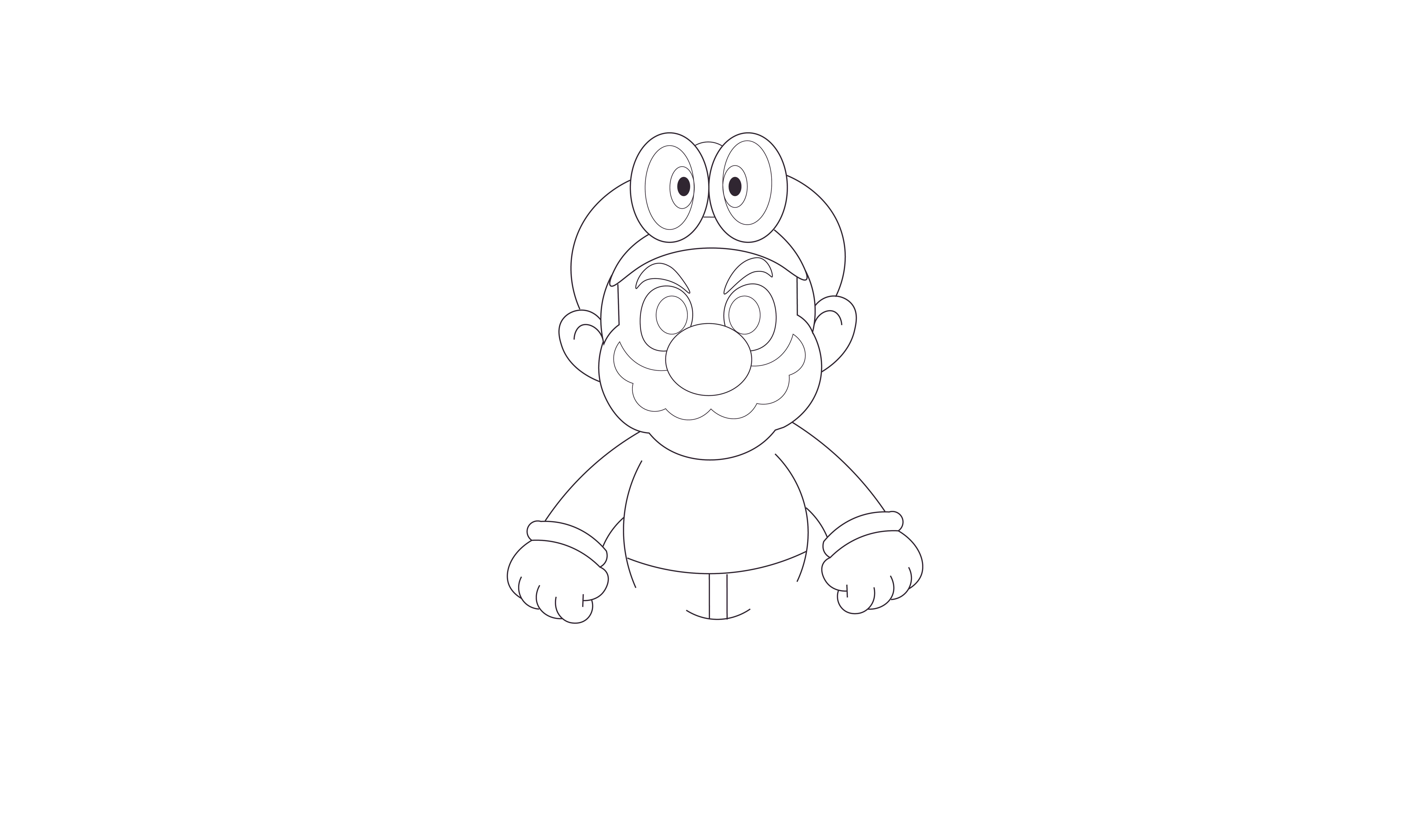Pin de Shawn Howto en How To Draw Super Mario Odyssey | Pinterest