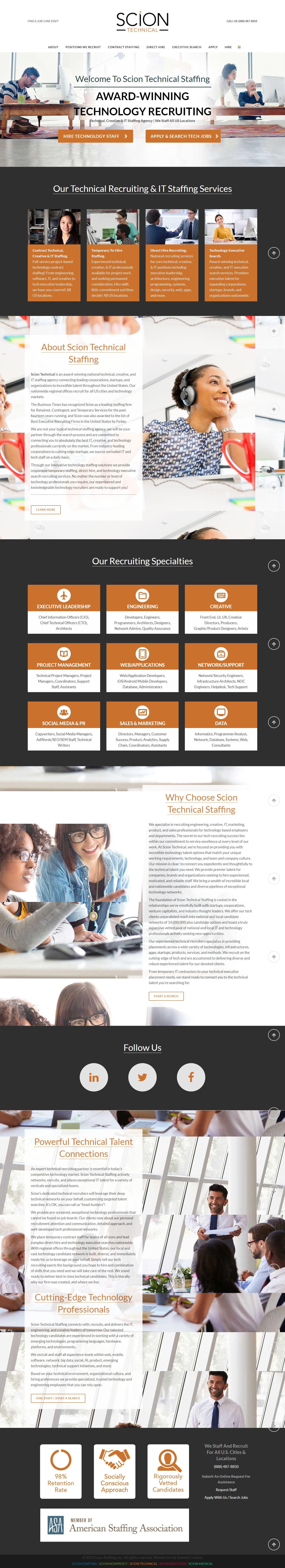 Sciontechnical In 2020 Staffing Agency Talent Network Temporary Staffing