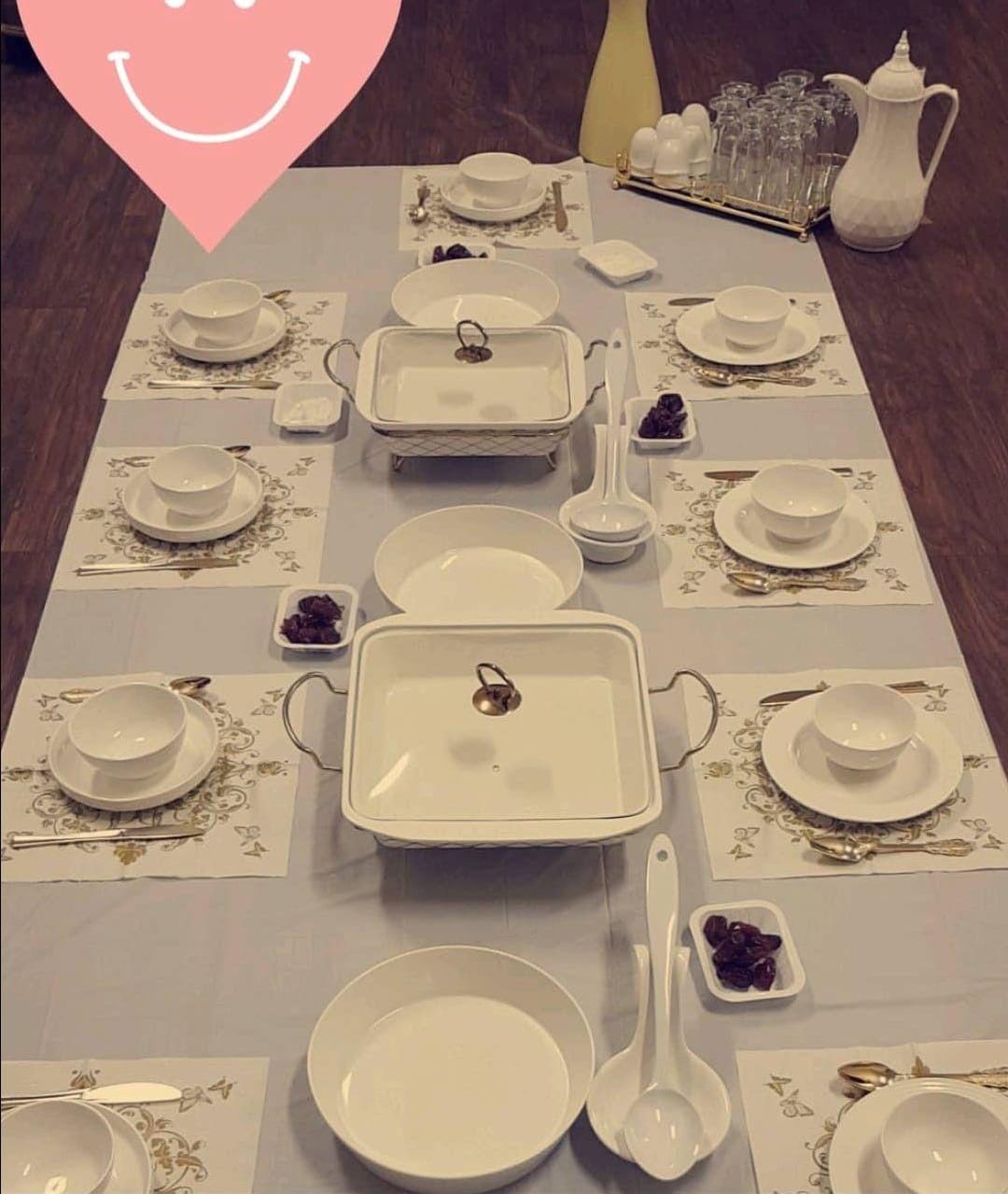 فكرة ترتيب السفره Dinning Table Decor Clay Crafts For Kids Food Decoration
